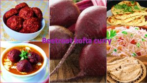 Beetroot kofta curry