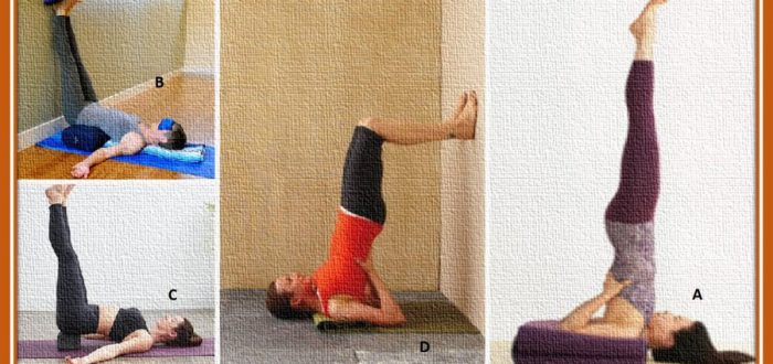 Shoulder stand modifications