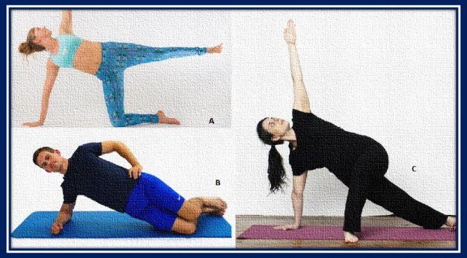Side plank variations