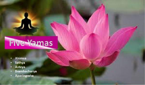 Five Yoga Yamas