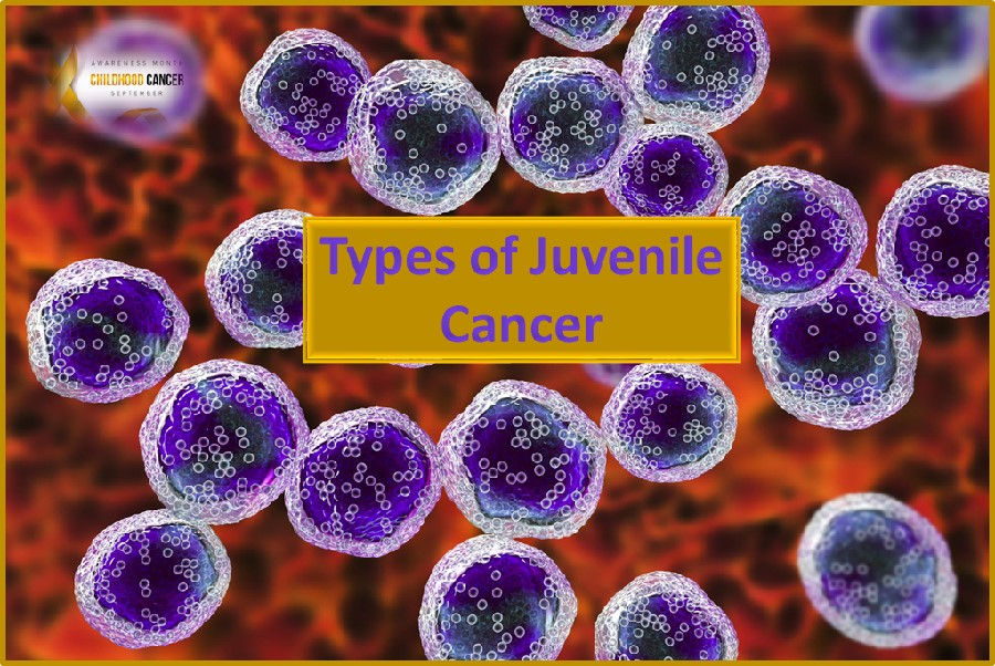 Types of juvenile cancers