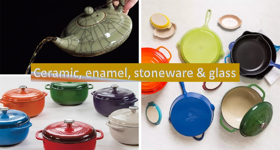 Ceramic stoneware cookware
