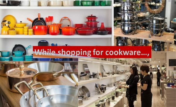 Cookware shopping tips