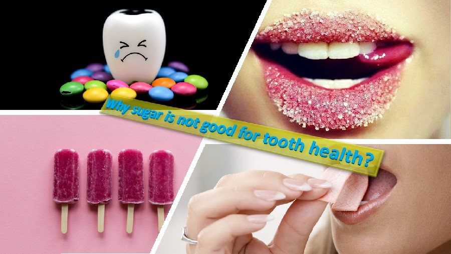 Sugar and tooth health