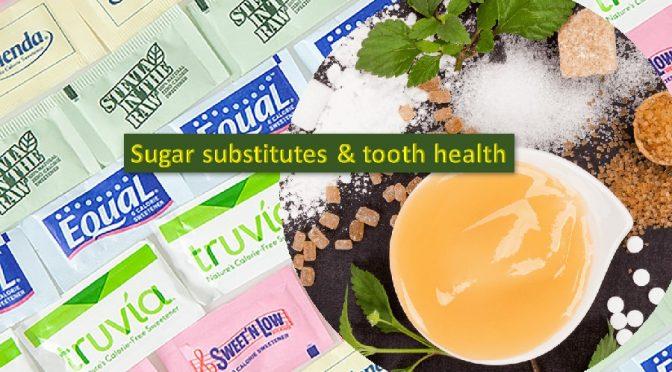 Sugar substitutes & health