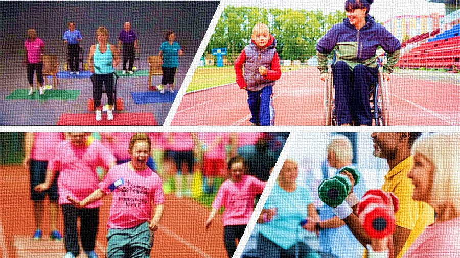 Physical activity for disabled & chronic patients