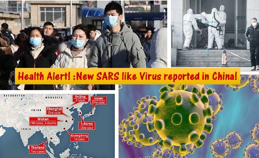 SARS like virus outbreak in China
