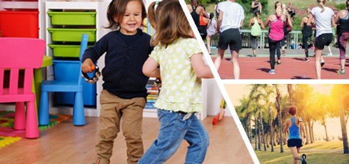 Physical activities for young children