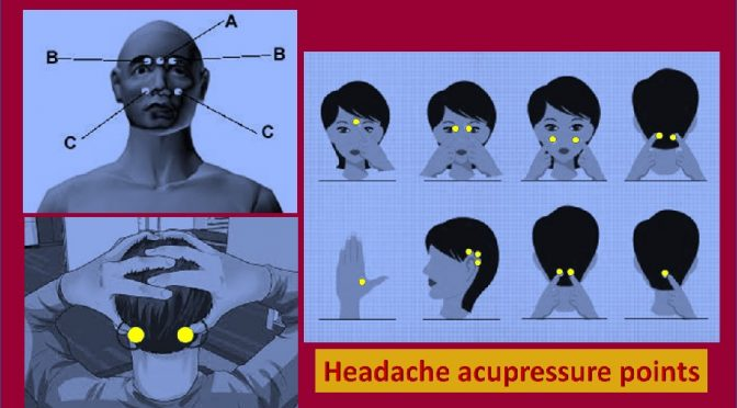 Acupressure for headache