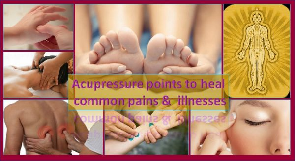 Acupressure for pains and illnesses