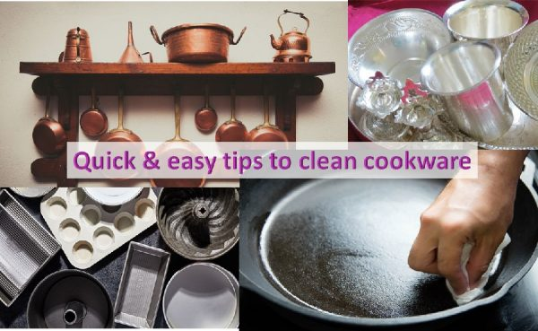 Easy tips to clean cookware