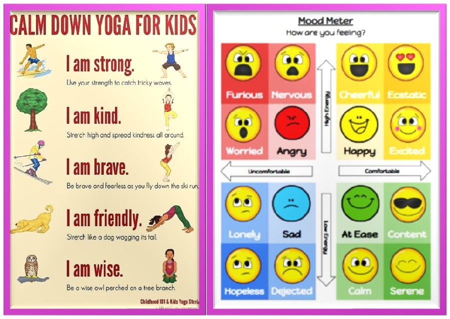 Emotional self- regulation activity