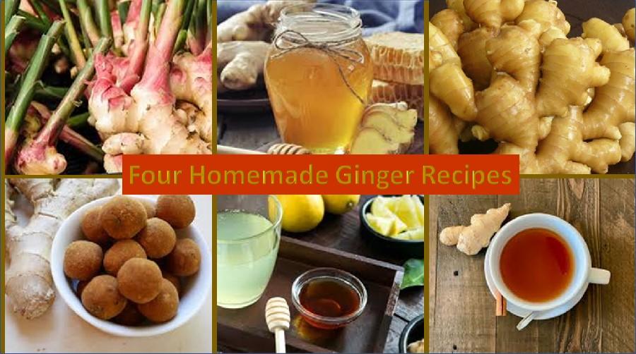 Homemade ginger recipes