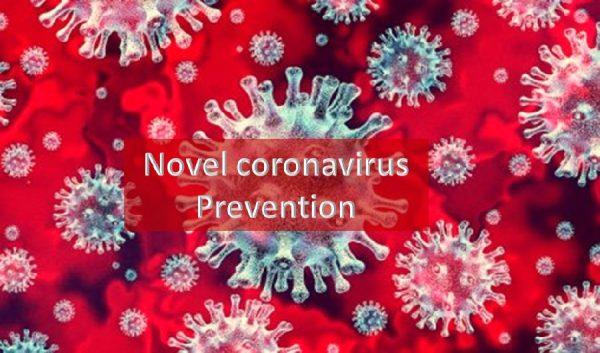 Novel coronavirus prevention