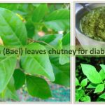 Bilva leaves chutney