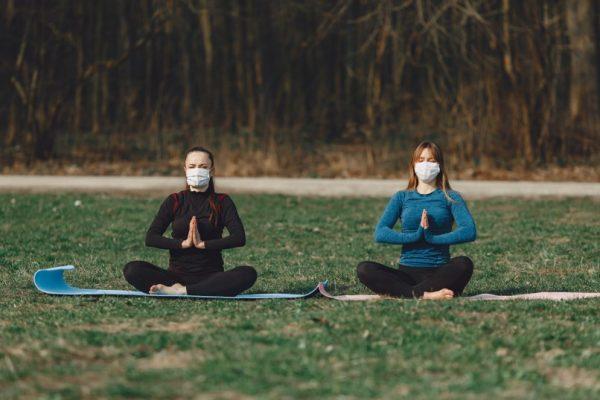 Namaste keeps germs away