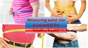 Waist size and heart condition