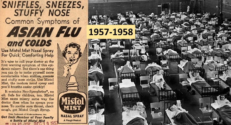 Asian flu pandemic