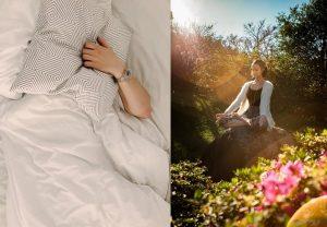 Getting good sleep Ayurveda daily routine