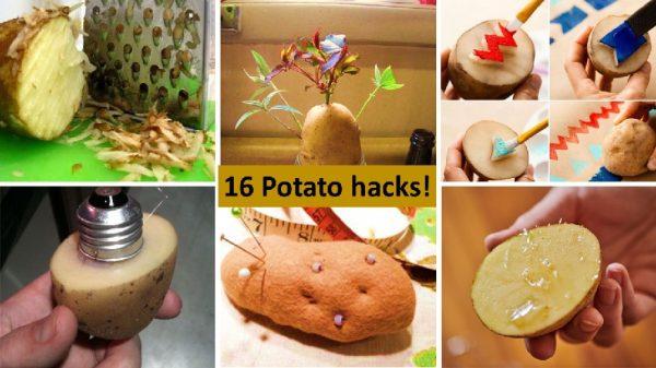 16 potato hacks