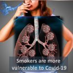 Smokers vulnerable to Covid-19
