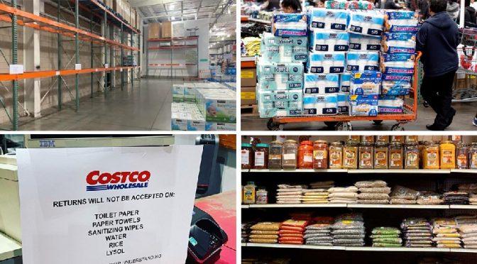Stop hoarding and panic buying