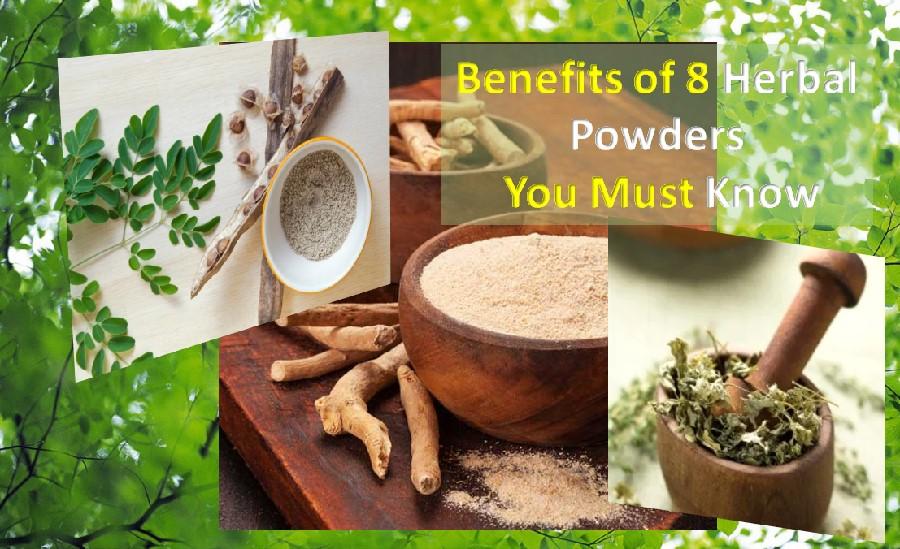 Immune boosting herbal powders