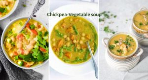 Chickpea vegetable soup recipe