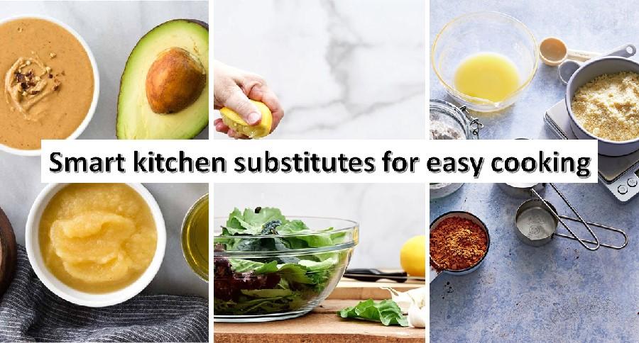 Kitchen ingredients substitutes