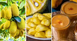 Jackfruit payasam dessert