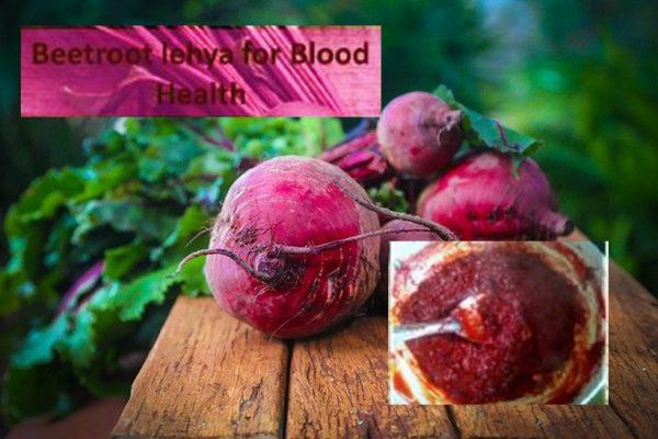 Beetroot lehya for blood health
