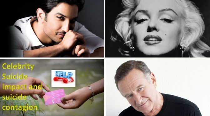 Celebrity suicide impact