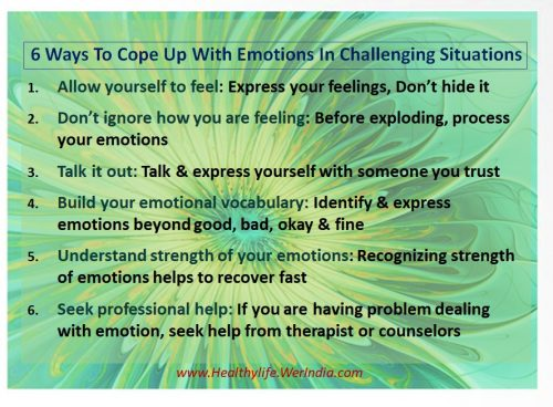 Cope up Emotions