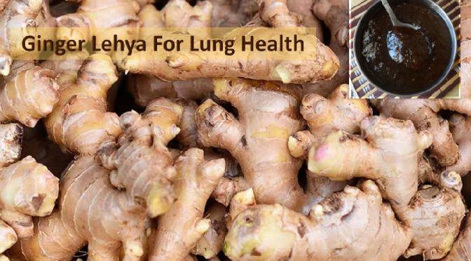 Ginger lehya for lung health