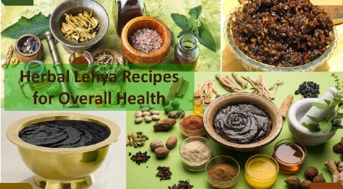 Herbal Lehya Elixirs For Better Health