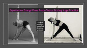 Experience prana vayus during yoga practice