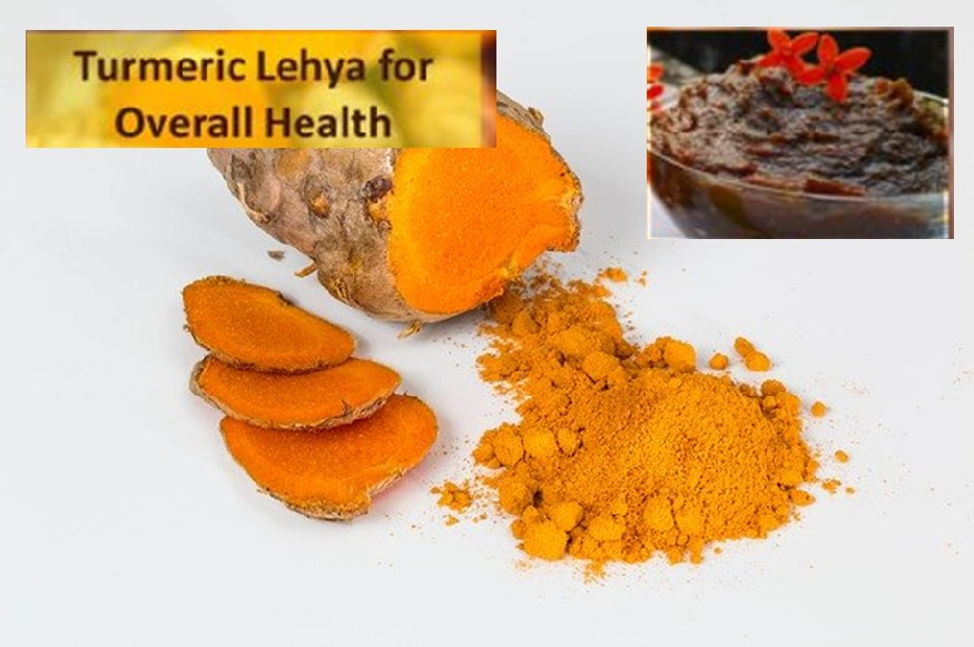 Turmeric lehya for overall health
