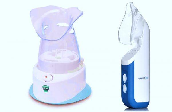 Steam respiratory inhaler