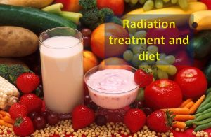 Radiation treatment and diet