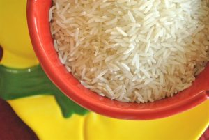 Fortified rice in India