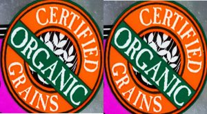 Organic food label claim