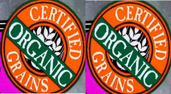 Organic food label claim