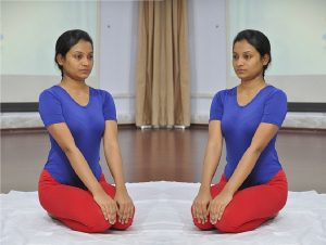 Vajrasana for hair health