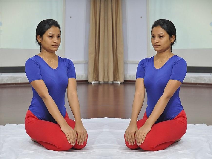 Vajrasana for hair health