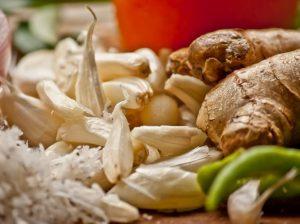 Ginger garlic WBC and immune system