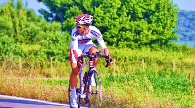 Bicycle ride for fitness and health