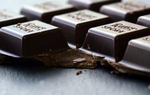 Dark chocolate for Valentine day