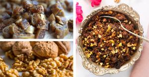 Walnut-fig halwa recipe