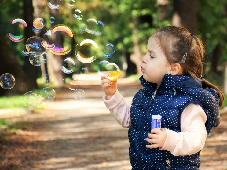 At two years age – what most children will