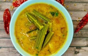 Drumstick small onion sambar recipe
